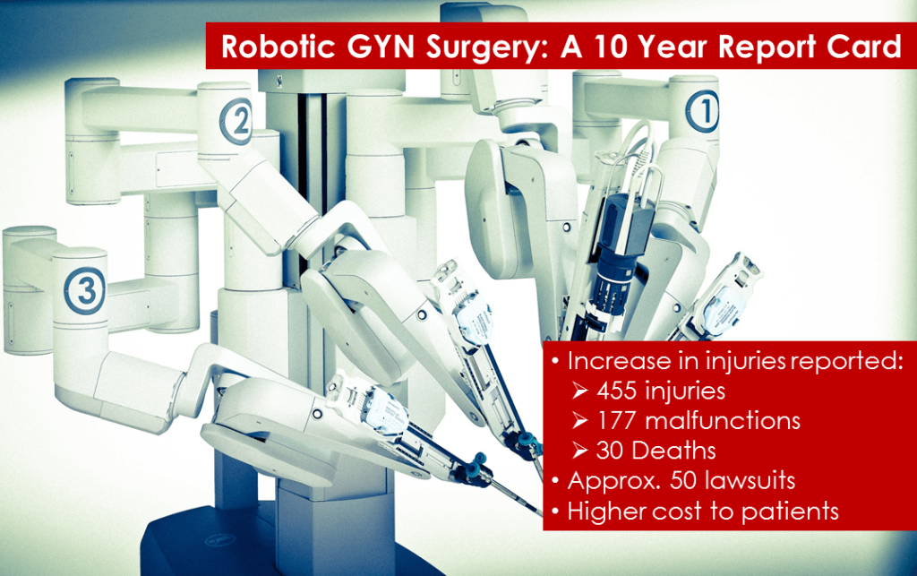 Robotic-Surgery-Report-card
